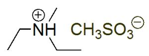 Structure of Diethylmethylammonium methanesulfonate CAS 945715-44-6